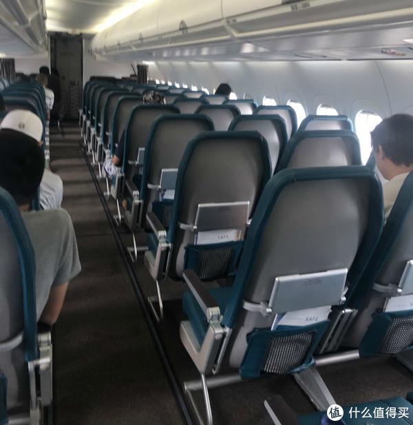 从没坐过如此空的飞机,我们都是勇敢的人