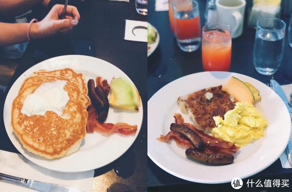 旅游团提供的早餐
