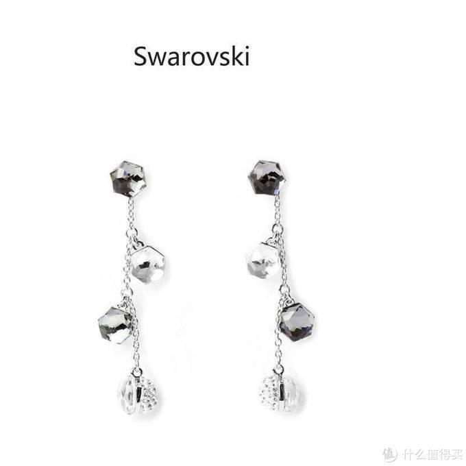施华洛世奇 Swarovski Media 水晶耳环 开箱