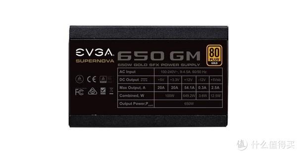80金牌、SFX全模方案:EVGA 发布 SuperNOVA GM SFX 450W/550W/650W 电源