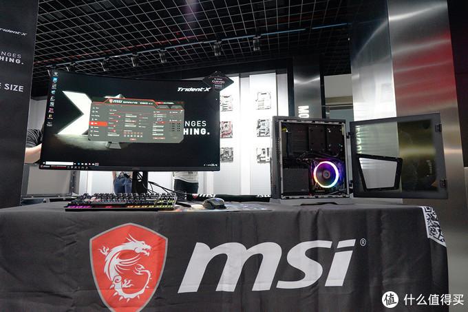 Trident X实机亮相:msi 微星 深圳恩斯迈工厂行