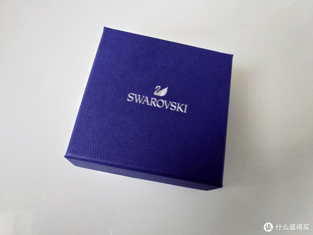 施华洛世奇 SWAROVSKI 5204134黑天鹅项链晒单