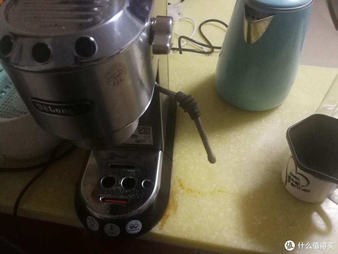 德龙ec680/685咖啡机的蒸汽棒steam wand改造