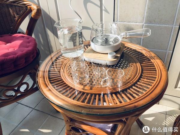 送给86岁老太太的生日礼物—鸣盏煮茶器伴随的美好下午茶