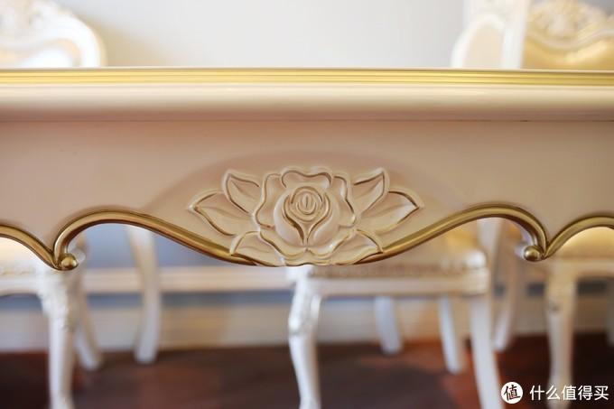 国庆入手一套欧式实木家具,打折加样品,大气精致无异味
