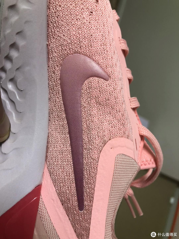 绝对值是否真的值?粉嫩可爱的女款NIKE 耐克 Odyssey React 跑鞋开箱
