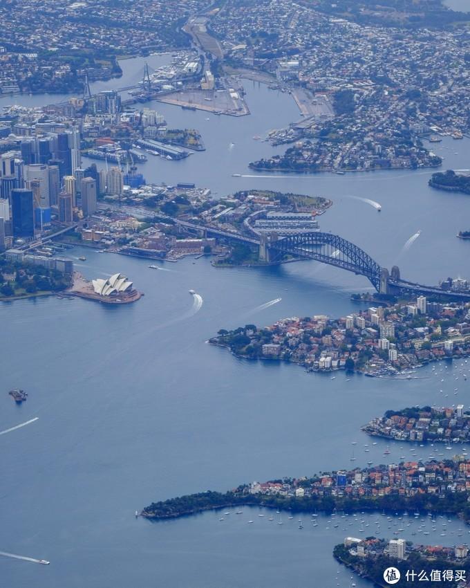 航班俯瞰悉尼港