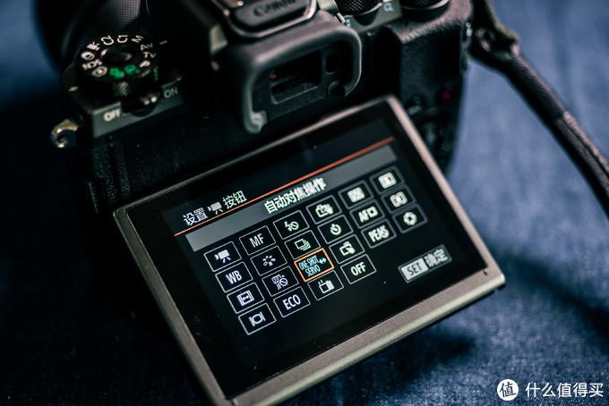在拍照模式下甚至可以自定义机身背部的红点录像按钮的功能,再也不用担心误触触发录像了甚至还能多一个功能