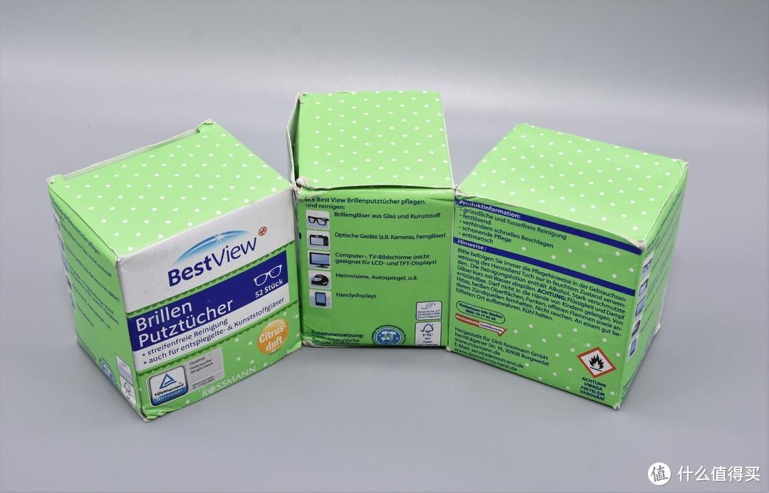 bestview眼镜清洁湿巾使用体验