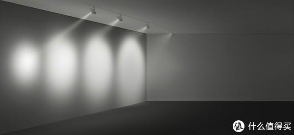 射灯的发散角度不同,发散角度越小,光束越聚集,效果不同