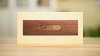 铜师傅 铜木主义 复古蓝牙音箱外观展示(电源线|控制面板|发声单元|铜罩)