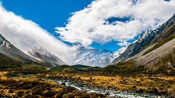 南阿尔卑斯山的风雨阳光——新西兰南岛蜜月之旅