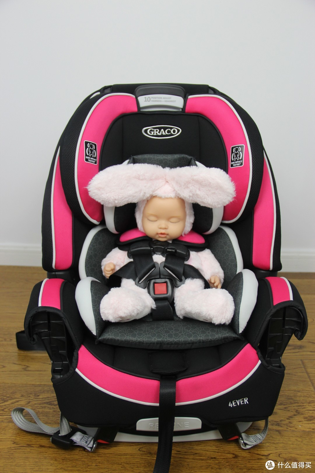 2K价位的儿童座椅参考—Britax头等舱白金版安全座椅开箱评测 对比Graco 4ever