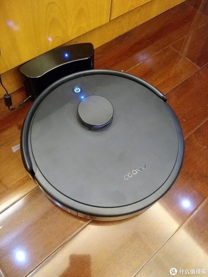 除了颜值,还是一款会自我计算的扫地机器人——科语小黑匣扫地机器人评测