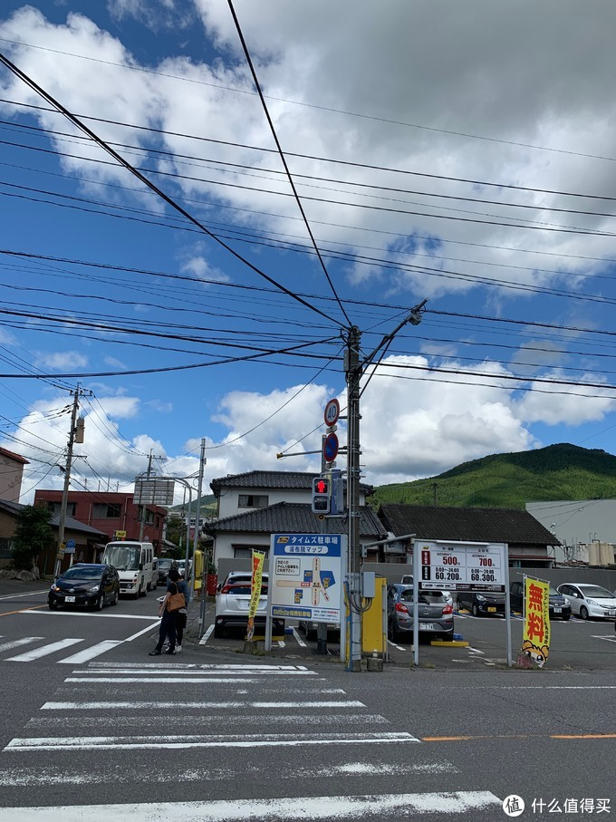 小镇的十字路口