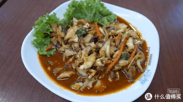 用椰子涡螺制作的美食。图片: null / YouTube