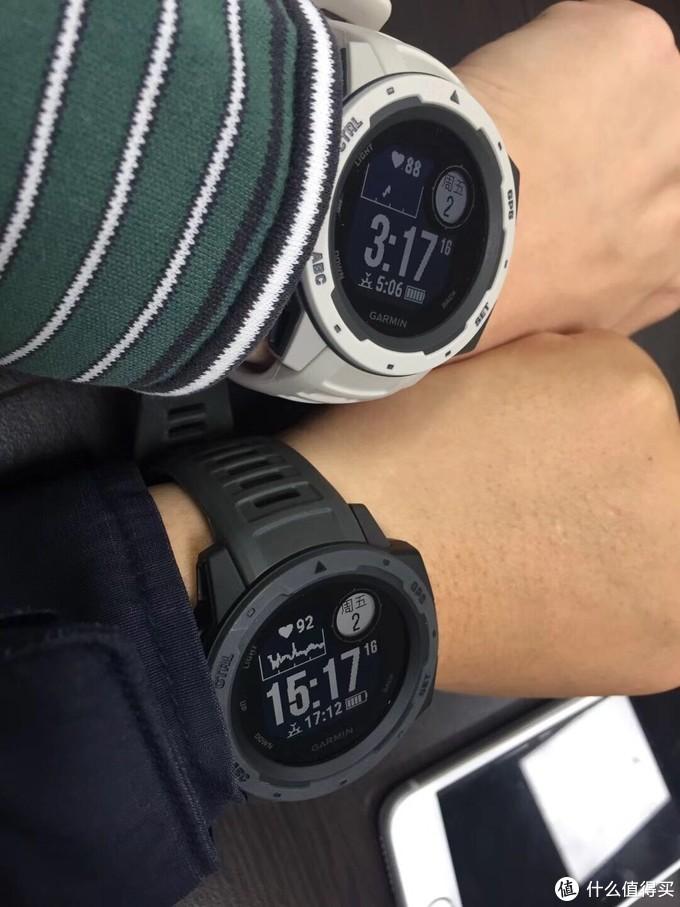 国内首晒:Garmin 佳明 instinct 军规级坚固 GPS 智能运动表 晒单