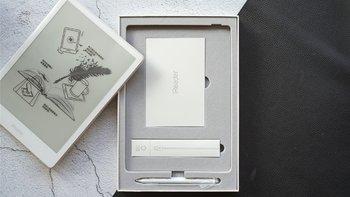 掌阅Smart R1001阅读器外观展示(边框|屏幕|材质|按键)