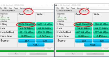 浦科特M9PeG 硬盘使用体验(性能|读取速度)