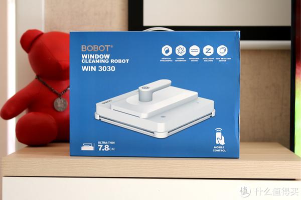 还在为擦玻璃费心费力?BOBOT高空清洁机器人,一键搞定干净安全