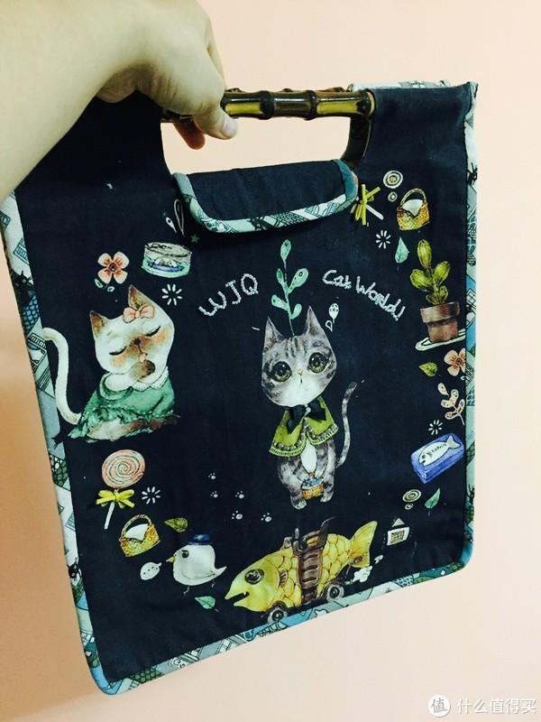 猫咪手作包~看到的人都会变的更可爱呐~~~