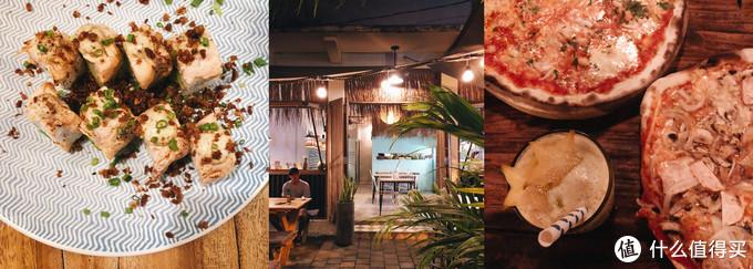 左:Koi,右:Pizza Fabbrica,都在仓古