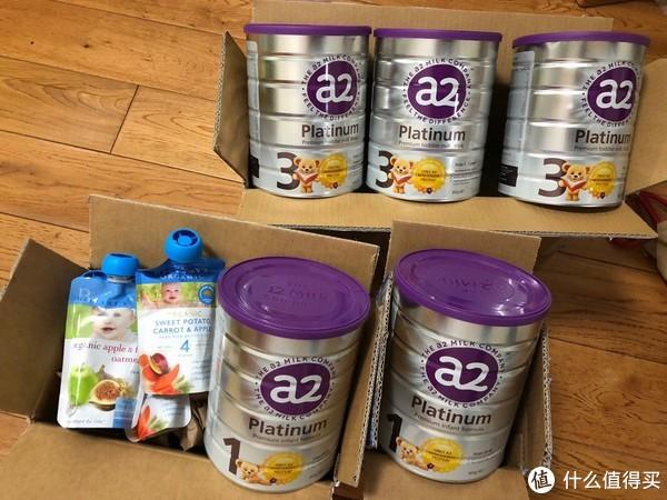 2018黑五用中环转运,15天收货,A2奶粉和贝拉米果泥给宝宝最好的选择