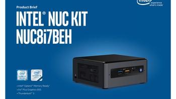 英特尔 NUC8i7BEH硬盘购买理由(配置 接口)