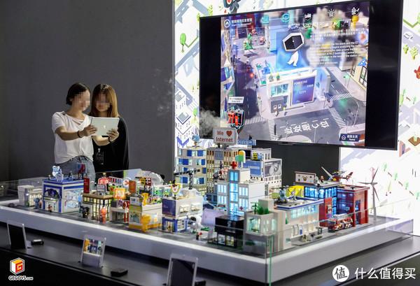 LEGO积木和AR技术的碰撞—阿里云ET智慧大脑乐高+AR演示沙盘