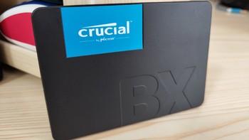 英睿达BX500硬盘开箱展示(SATA口|包装|电源线|配件)