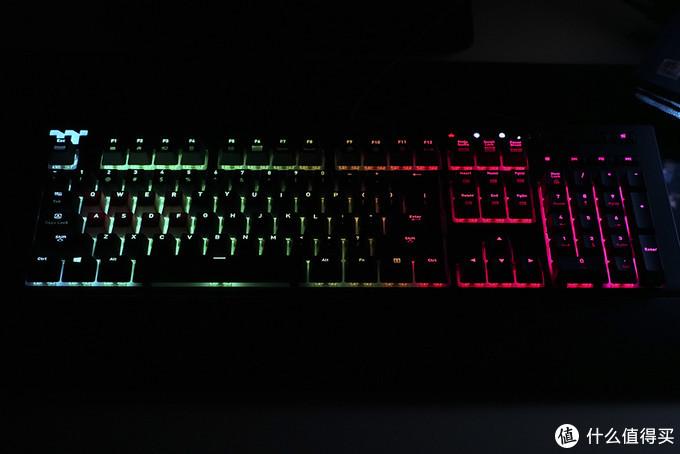 智能电竞机械键盘?TT 星脉 X1 RGB众测体验报告