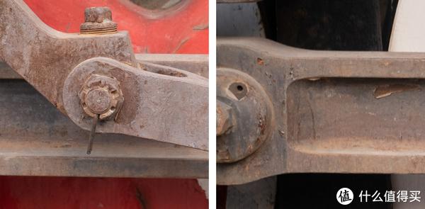 左为中心 右为边缘  75mm长焦端 F2.8光圈