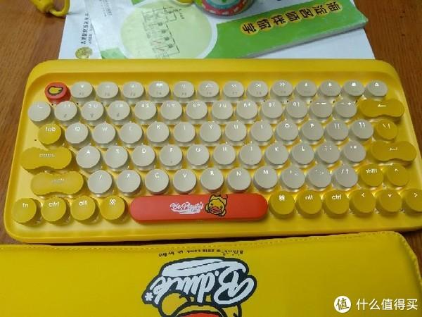 洛斐 dot 小黄鸭 蓝牙 双模机械键盘