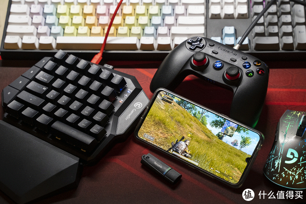 手游吃鸡神器——小鸡Z2机械键盘开箱玩