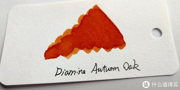 戴阿米Diamine钢笔彩墨四色试色评测