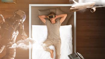 大朋VR P1 设备使用体验(挡板 材质 配置 佩戴 快闪屏)