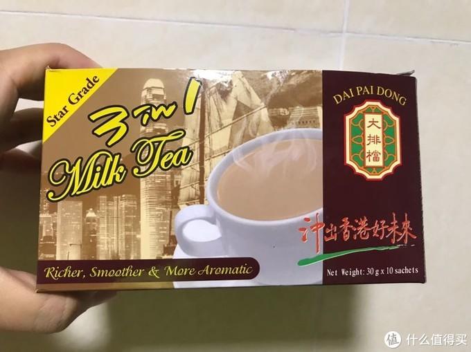 香港大排档星级版奶茶分享