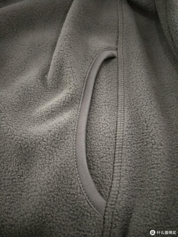 图书馆猿のINTERIGHT系列晒单 01:男士摇粒绒立领拉链休闲外套