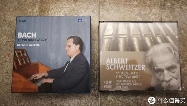 Walch的大键琴全集和史怀哲的管风琴演奏集