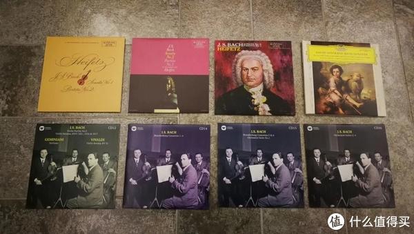 海菲兹、奥伊斯特拉赫,布什的巴赫小提琴作品