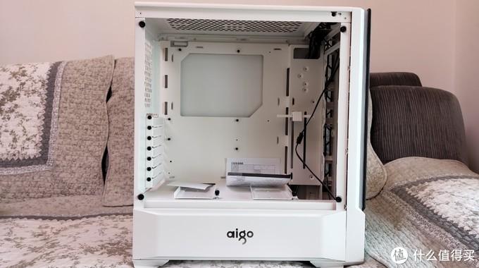 RGB升级:Aigo 爱国者 月光宝盒 T30 精艺版 白色RGB机箱开箱 装机