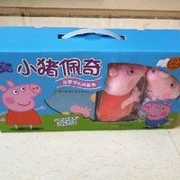 小猪佩奇礼品装开箱晒单(盒子|玩偶|封面)
