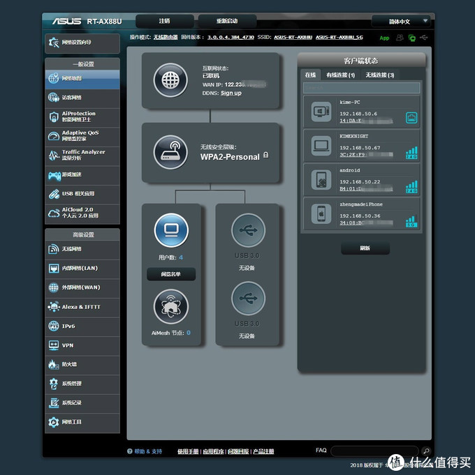 安全稳定的家用电竞路由,华硕RT-AX88U上手评测