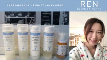 孕妈护肤的必备品——英国REN芢玫瑰蔷薇与果酸系列护肤套装测评