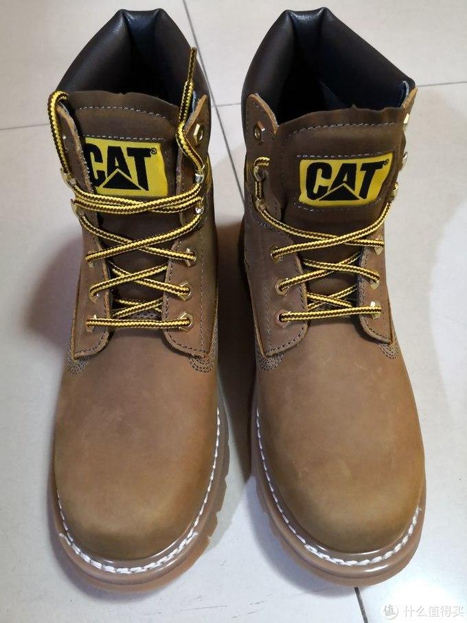 CAT卡特彼勒 推土机 高帮大黄靴
