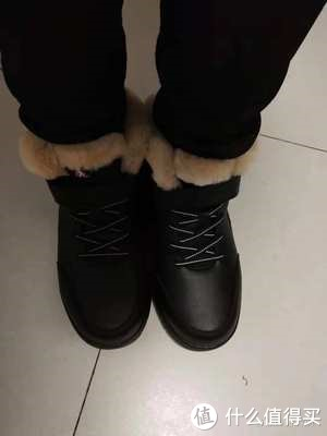 开箱亲测足力健老人鞋,老人冬天穿它保暖效果杠杠滴