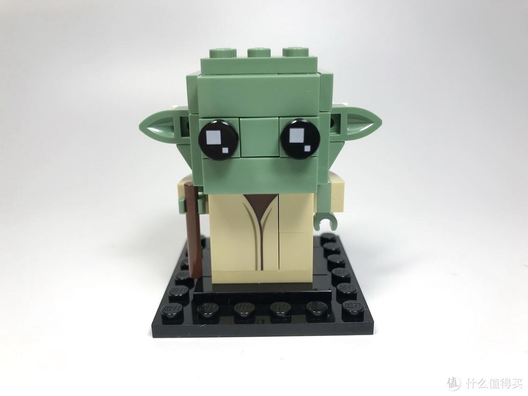 LEGO 乐高 拼拼乐 篇181:方头仔系列 41627 卢克和尤达大师星球大战绝地师徒套装