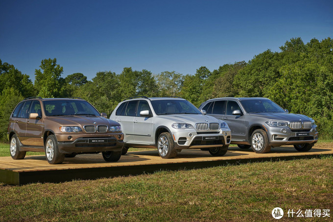 X5 - 3 Generations, photo from BMWblog