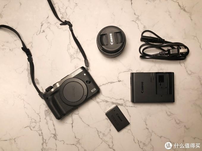 新手向开箱—Canon 佳能 EOS-M6 无反相机