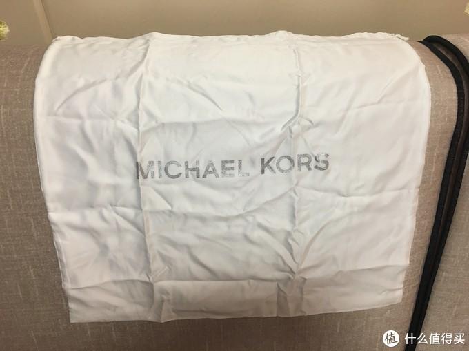 美国MK官网海淘日记—MICHAEL MICHAEL KORS 中号皮质拉链双肩包简单开箱验货